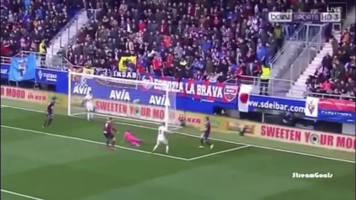 Real Madrid goleó al Eibar como visitante y volvió a lo más alto de la Liga