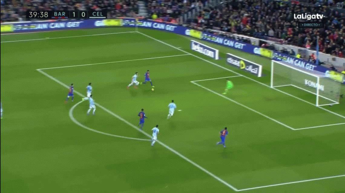 Con un Messi brillante, Barcelona vapulea al Celta de Berizzo como local