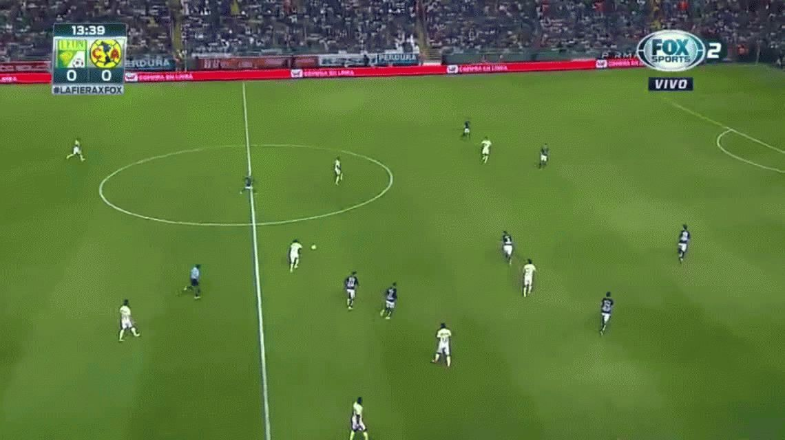 VIDEO: Dura lesión de Renato Ibarra del América de México ante el León