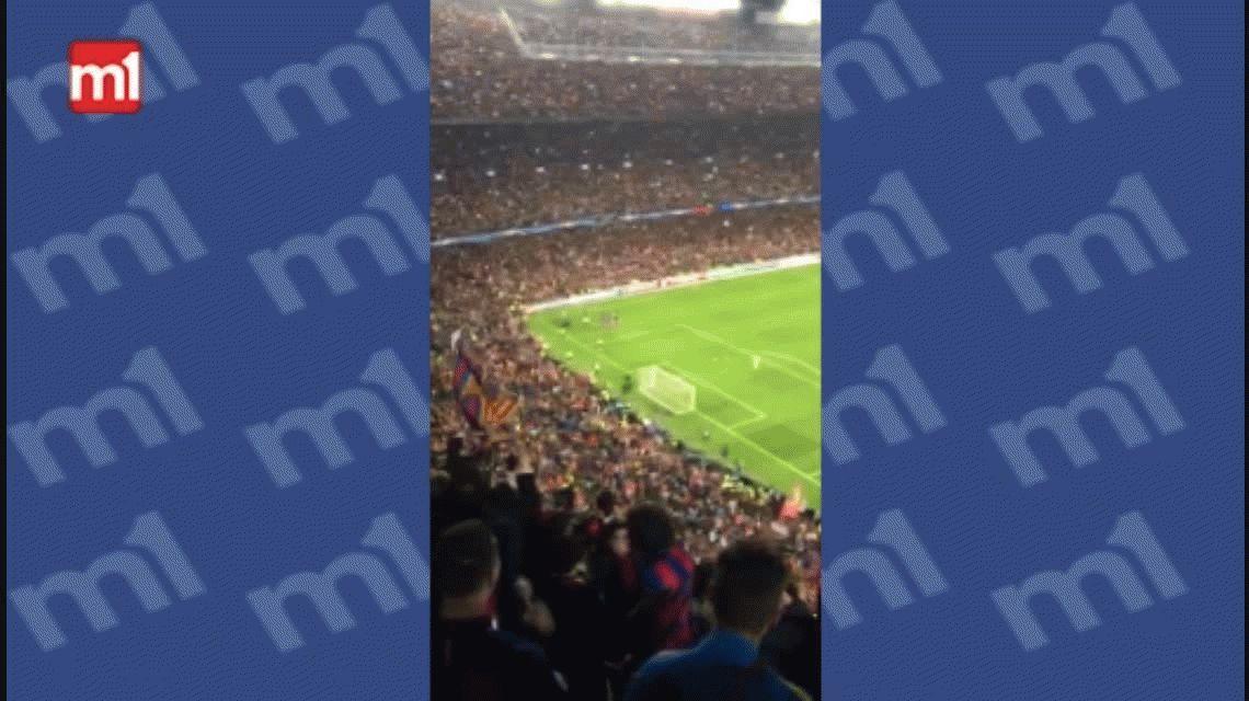 VIDEO: Así se vivió la gran victoria de Barcelona dentro del Camp Nou