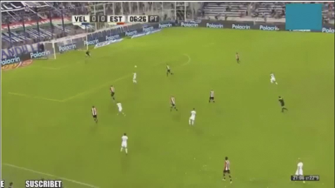 VIDEO: Así fue el golazo de Pavone para Vélez, el primero del 2017