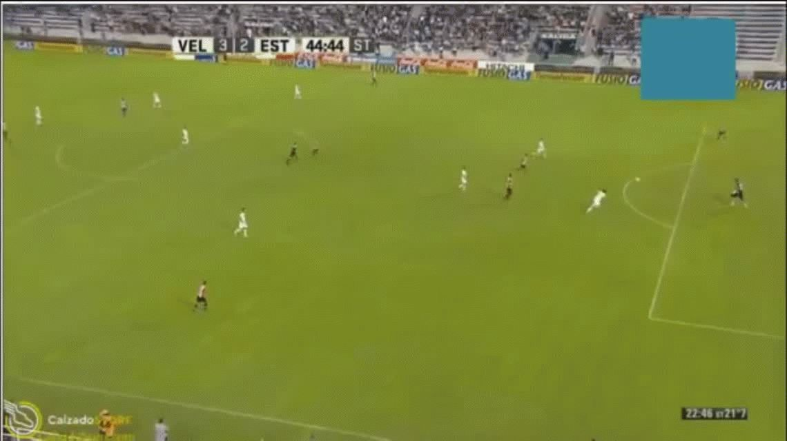 Con dos goles de Pavone, Vélez le ganó a Estudiantes en un partidazo