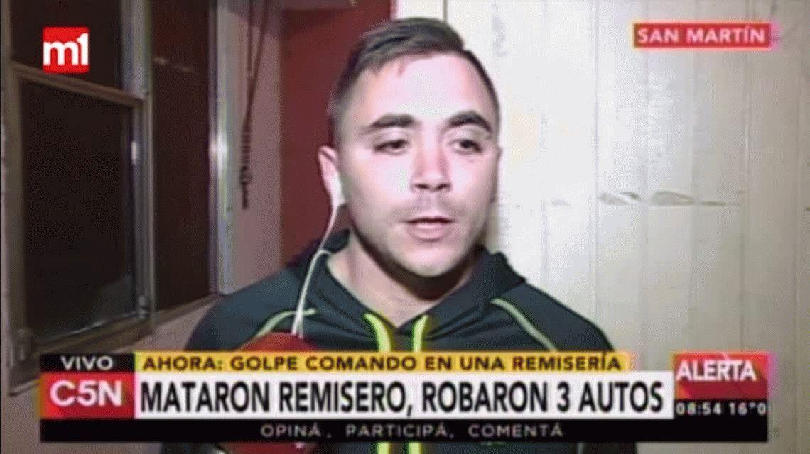 Asesinaron a un remisero en un robo a una remisería de San Martín