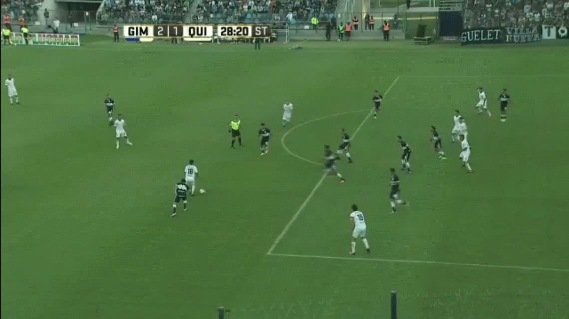 Gimnasia derrotó a Quilmes en el Bosque