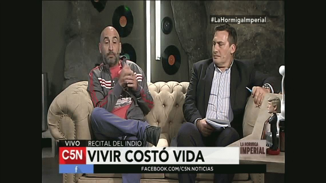 El cruce de Pettinato con un periodista ricotero que estuvo en Olavarría