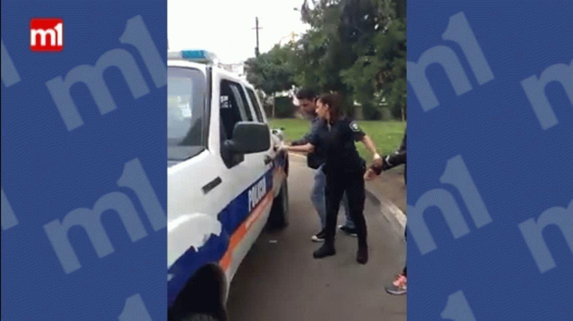 Detuvieron a una mujer por pedir el traslado de su marido de un hospital