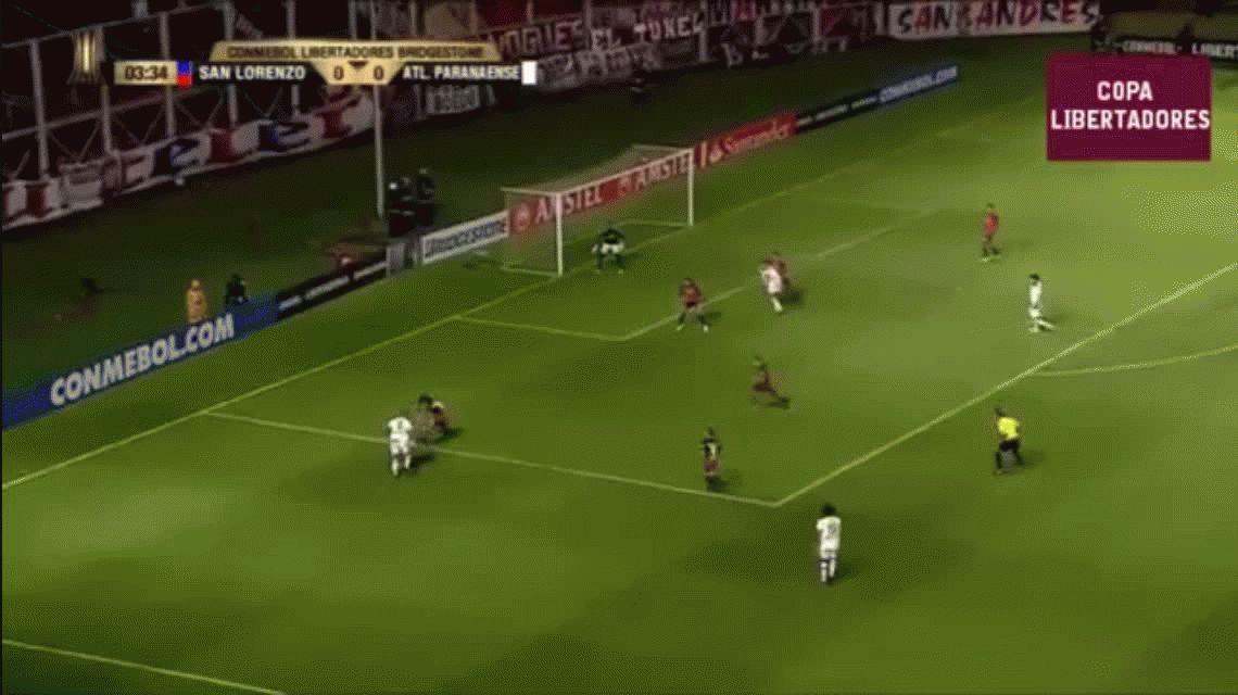 A San Lorenzo no le salió una y perdió ante Atlético Paranaense en el Gasómetro