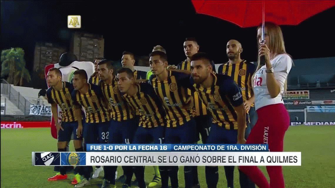 Con un gol en el final, Rosario Central le ganó a Quilmes en el inicio de la fecha