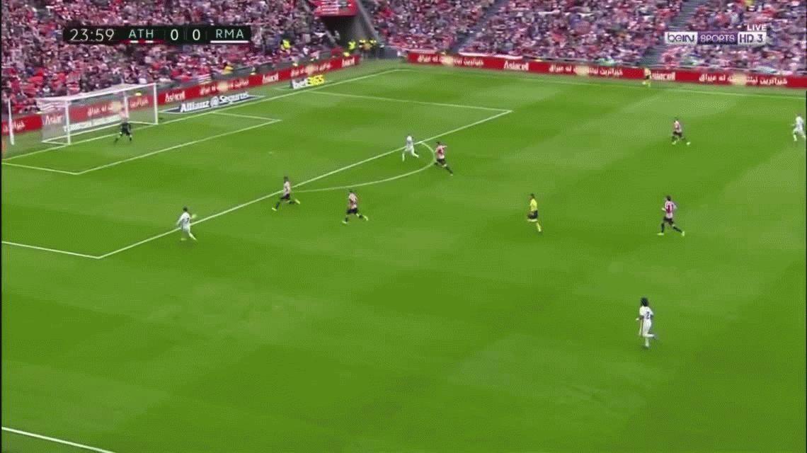 Real Madrid venció al Athletic Bilbao y se consolida en la cima de la Liga