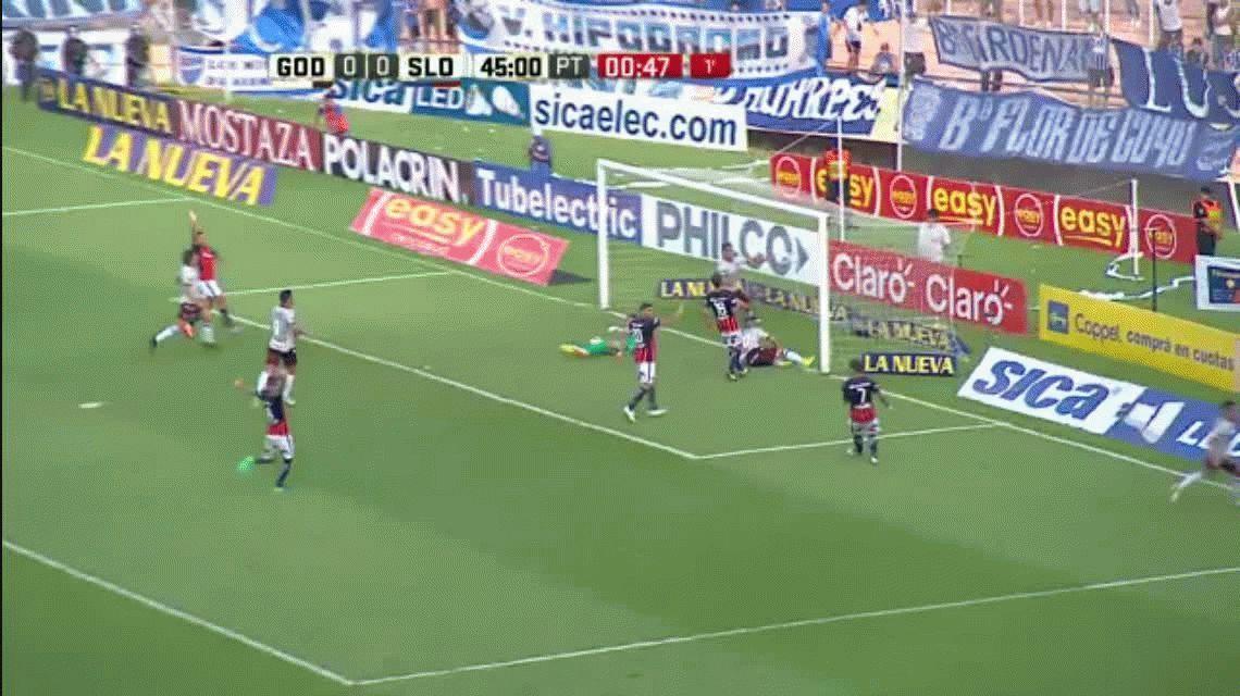 San Lorenzo cayó ante Godoy Cruz y perdió su chance