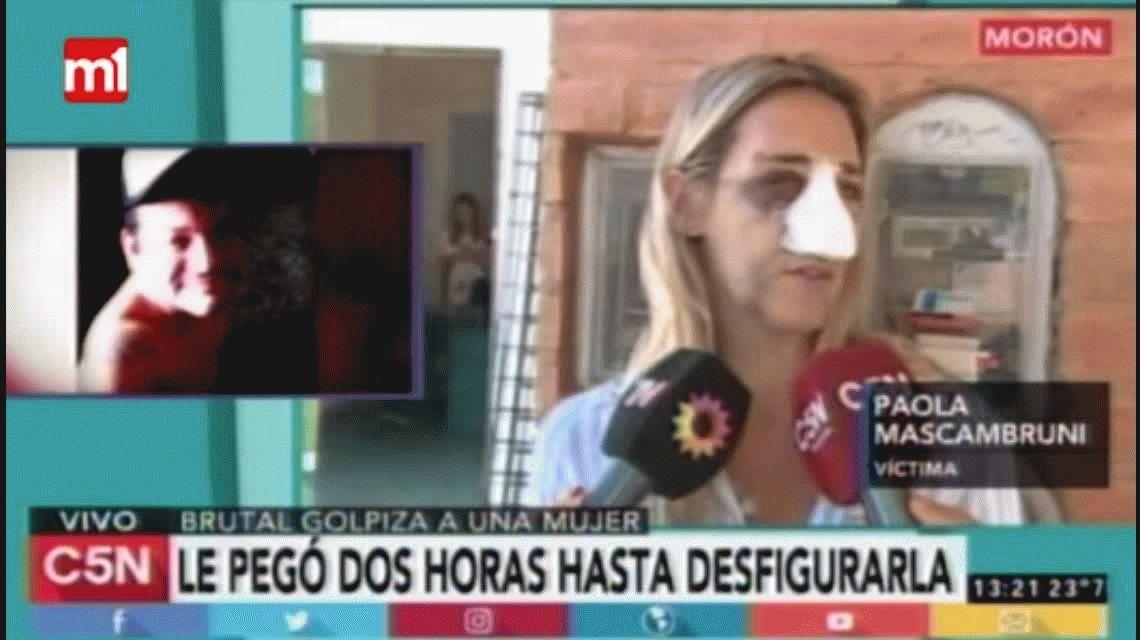 El dramático relato de Paola Mascambruni