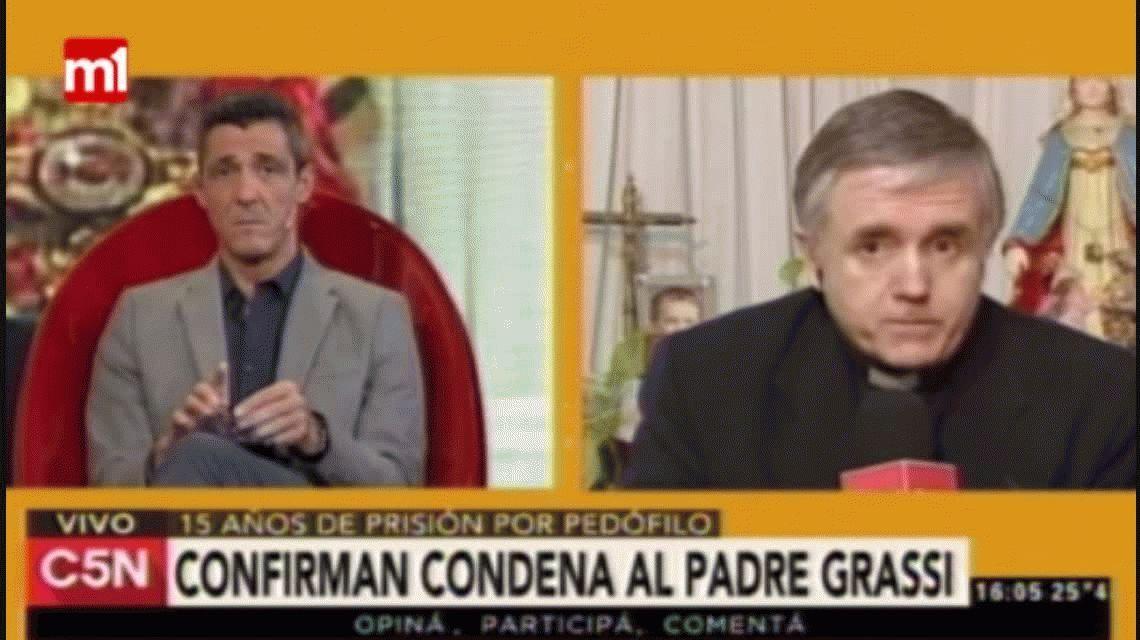 La Corte confirmó la pena de 15 años de prisión contra el padre Grassi