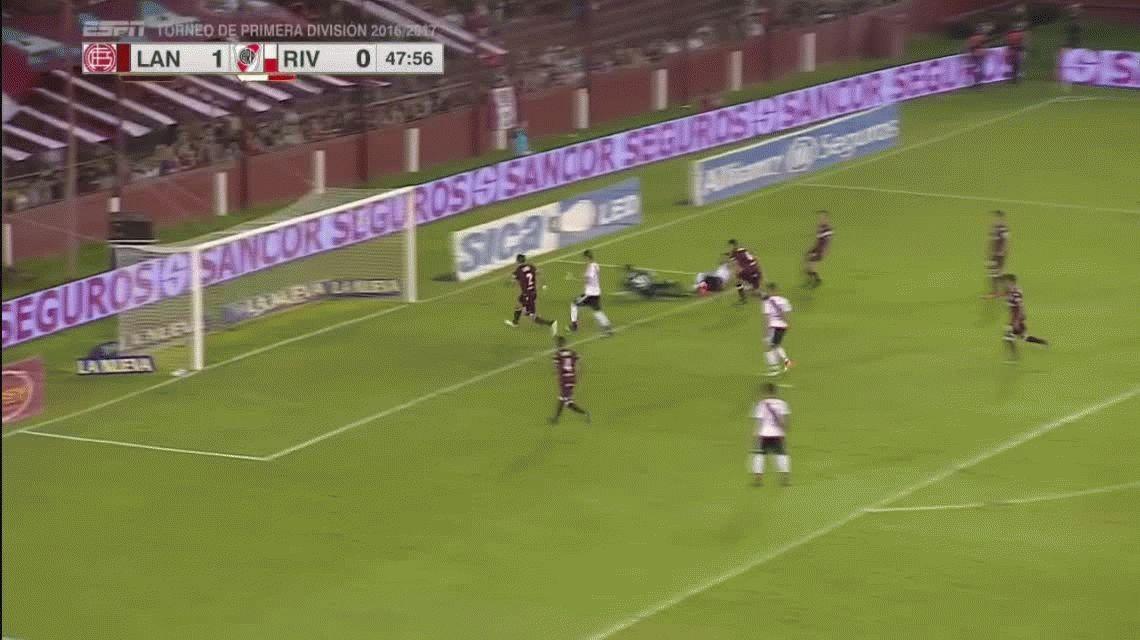 El gol de Ariel Rojas en posición adelantada