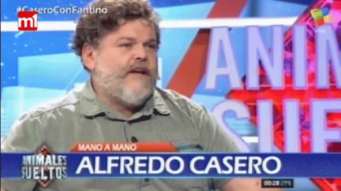 VIDEO: Alfredo Casero prometió defender a Macri aunque tenga que pegar un tiro