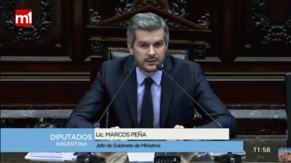 El acto fallido de Marcos Peña sobre la educación pública