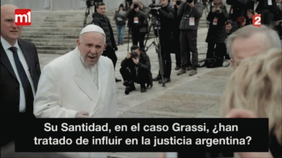 VIDEO:¿Qué dijo el Papa Francisco sobre el caso Grassi?