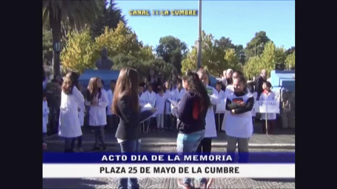 Polémico: simularon un fusilamiento en un acto escolar por el Día de la Memoria