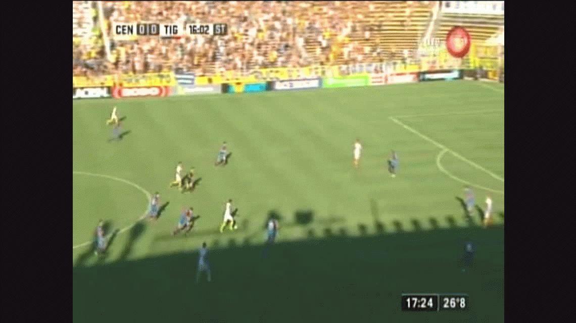 Con un gol de Teo Gutiérrez, Central venció a Tigre en el Gigante de Arroyito