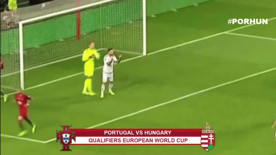 Con dos goles de Cristiano, Portugal goleó a Hungría por Eliminatorias