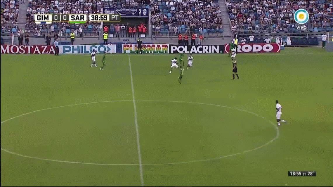Gimnasia superó a Sarmiento en La Plata