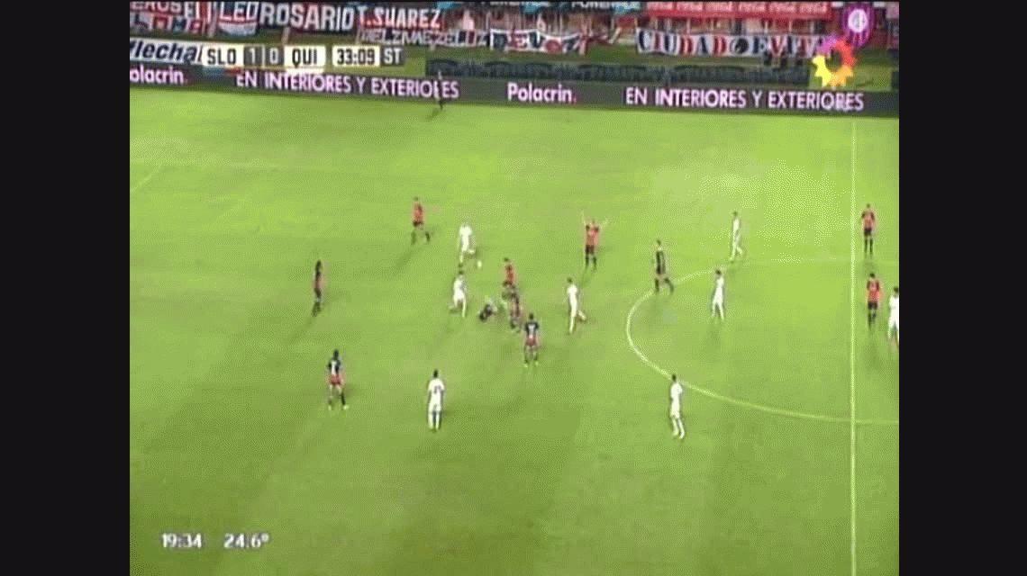 San Lorenzo le ganó a Quilmes sobre el final y alcanzó a Boca en la punta