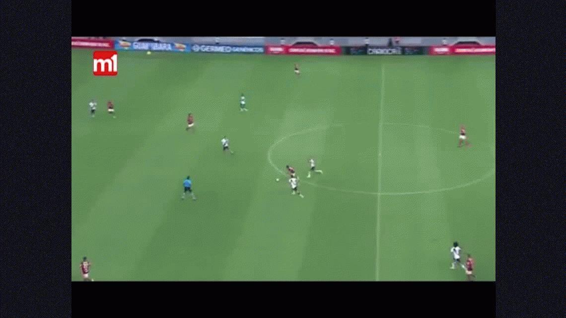 Nunca visto: el árbitro que fingió una agresión para expulsar a Luis Fabiano