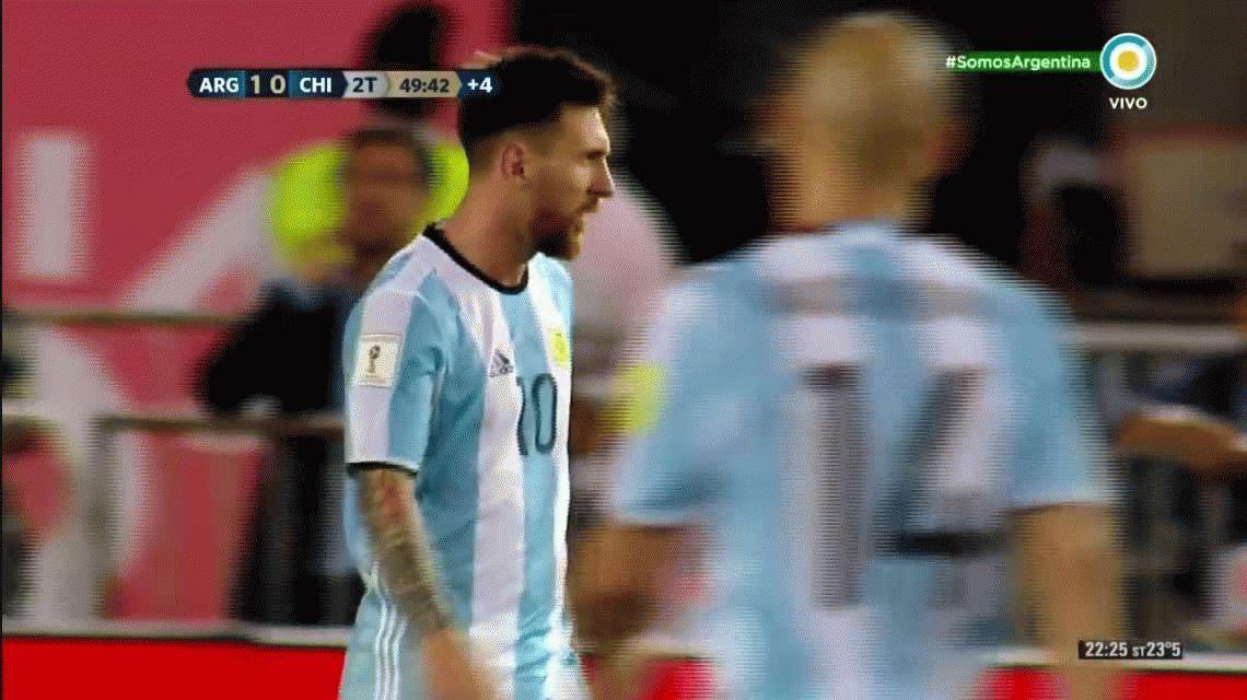 VIDEO: Por este insulto, Lionel Messi puede perderse el resto de las Eliminatorias