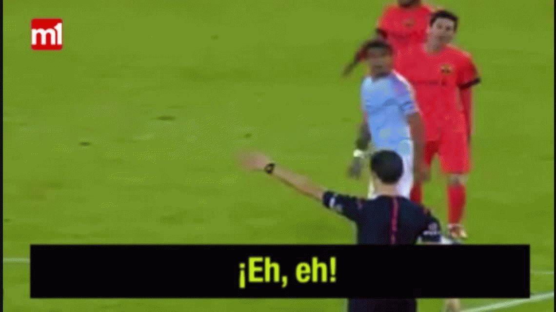 VIDEO: Los insultos de Messi con el Barcelona que no fueron sancionados