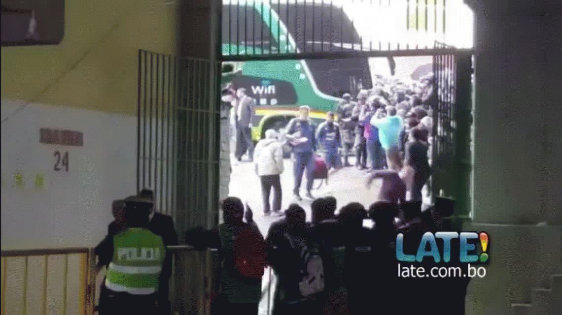 La caída de Edgardo Bauza en la llegada de la Selección al Hernando Siles