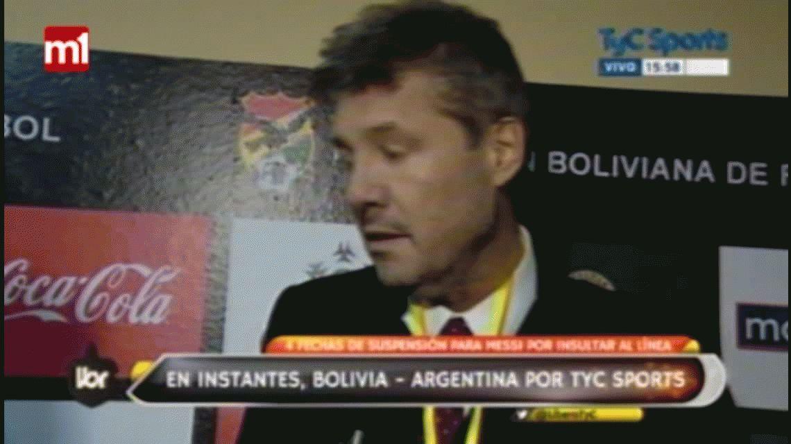 La AFA apelará la sanción contra Messi
