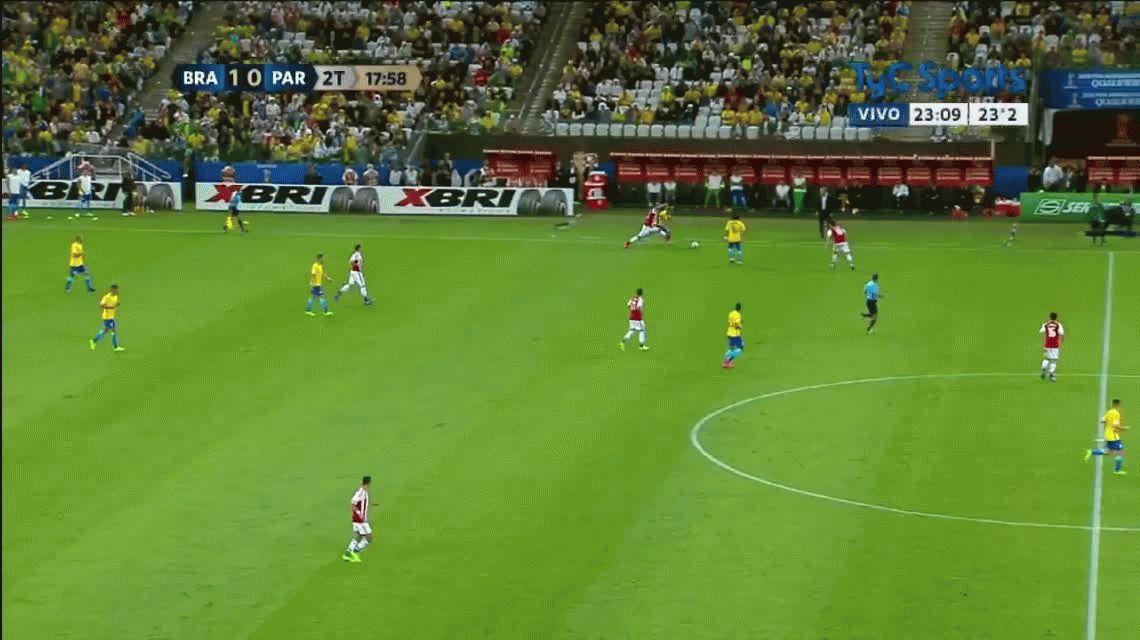 Brasil goleó a Paraguay y ya está en Rusia 2018