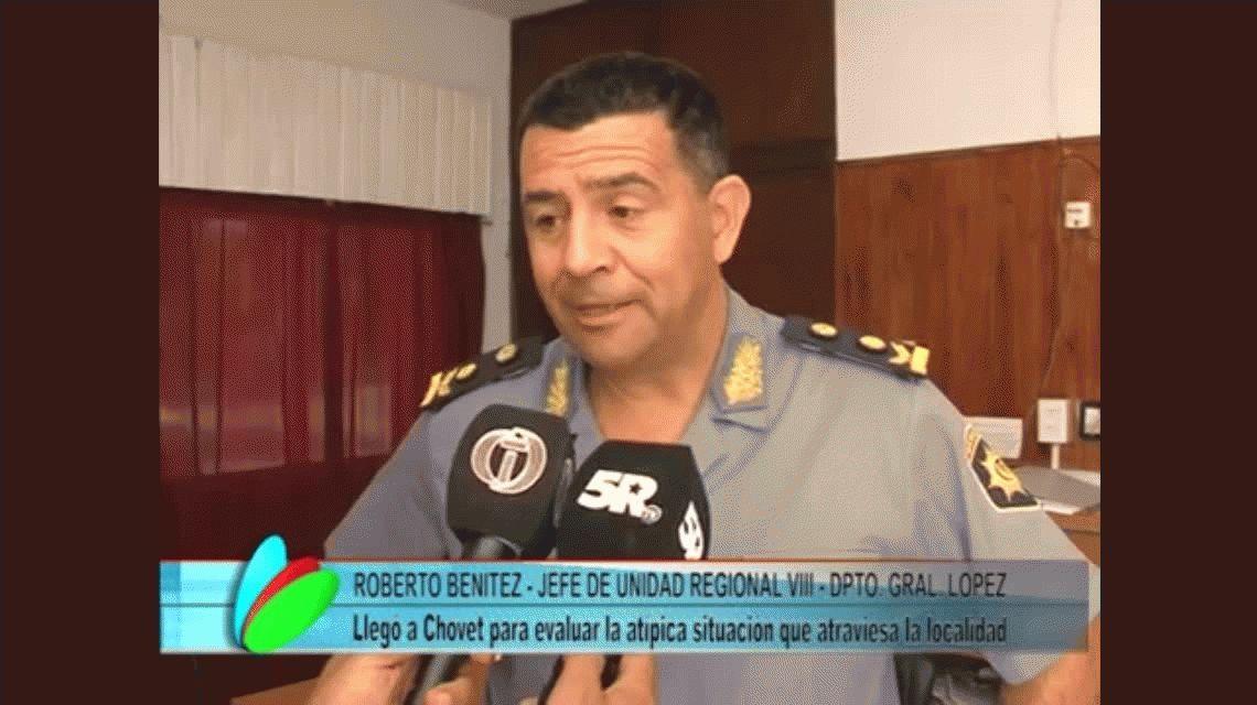 Chovet pide refuerzos a la policía santafesina para atrapar a La Llorona que genera pánico en el pueblo