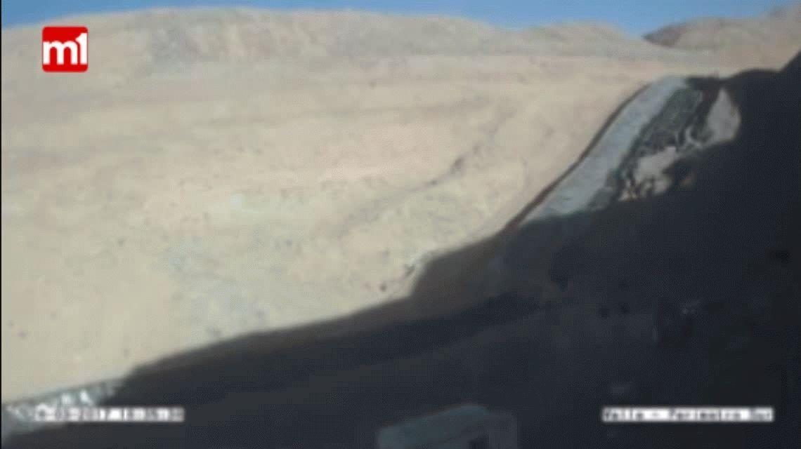 VIDEO: Así fue el nuevo derrame de Barrick Gold en la mina de Veladero
