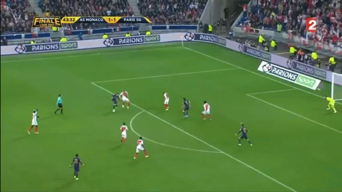 Con un gol de Di María, el PSG es el nuevo campeón de la Copa de Francia