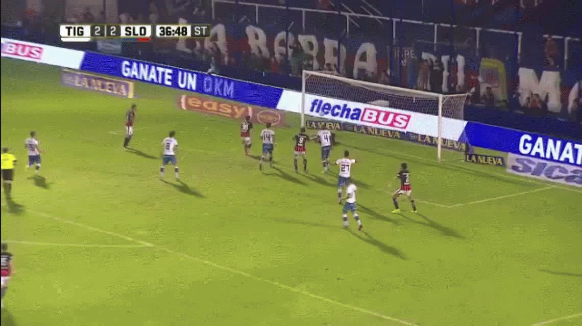 Lluvia de goles: Tigre bajó a San Lorenzo en el mejor partido del año