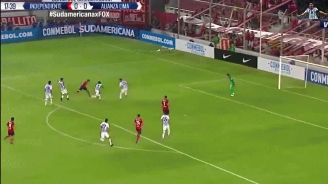 Independiente malogró un penal y empató con Alianza Lima de local