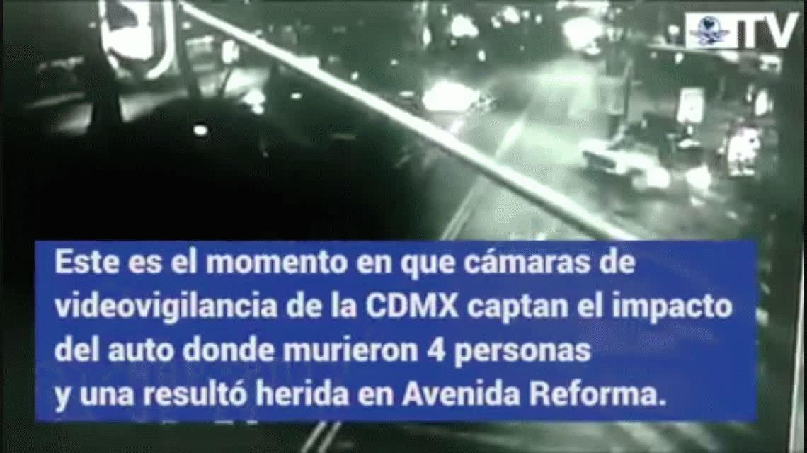 VIDEO: Descubren una misteriosa sombra antes de un accidente en México