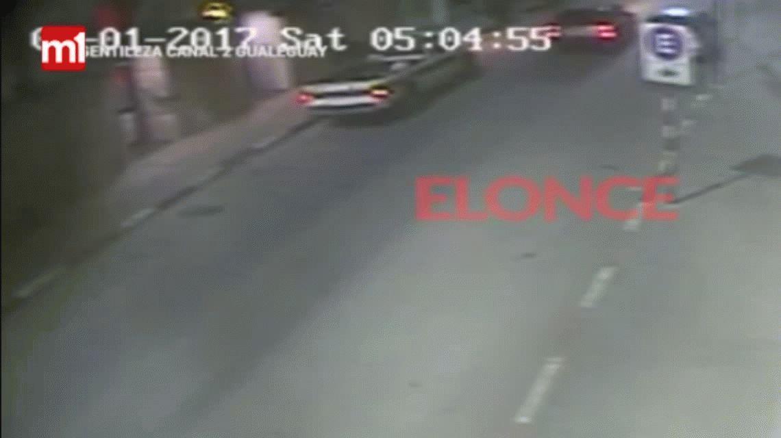 Gualeguay: éste es el auto en el que se habrían llevado a Micaela García