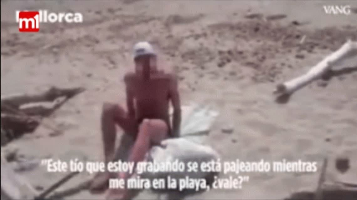 España: se marturbó frente a una joven y lo escracharon