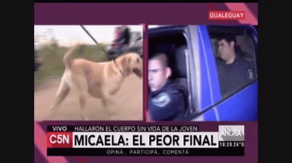 La pareja del acusado del asesinato de Micaela García denunció amenazas