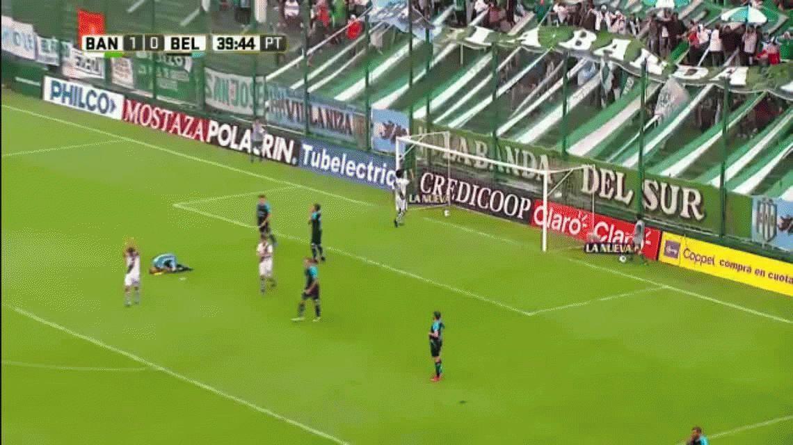 Banfield le ganó a Belgrano y amargó el debut de Sebastián Méndez