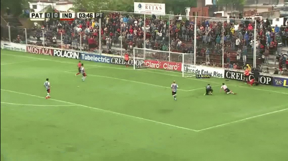 Independiente goleó y consiguió su primer triunfo del año ante Patronato