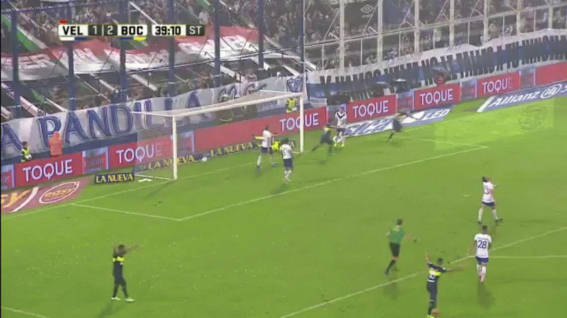 Al trote, Boca derrotó a un Vélez quebrado y se escapa en la punta