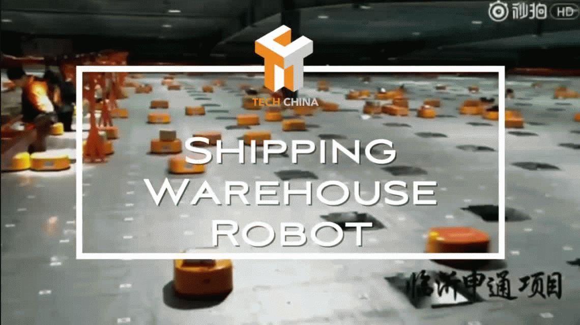 VIDEO: Una legión de robots que sustituyen el 70% de humanos en una fábrica