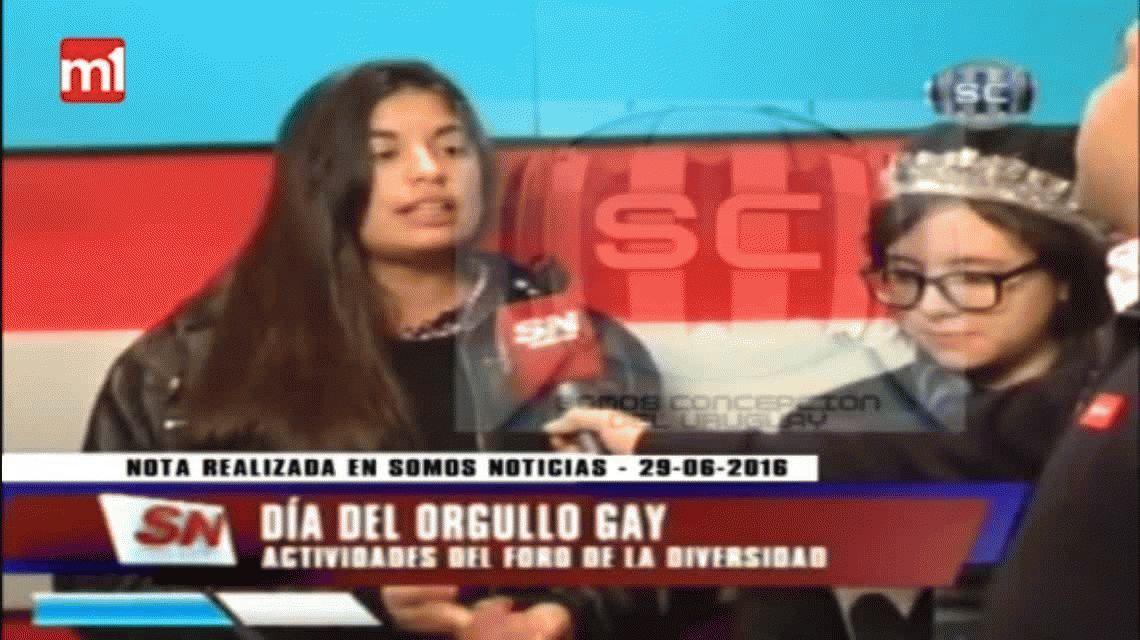 La militancia de Micaela en un video: #NiUnaMenos y el orgullo gay