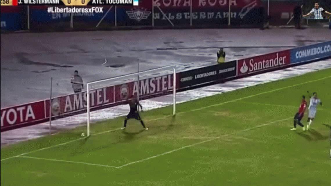 Atlético Tucumán no pudo aguantar el resultado y perdió con Wilstermann