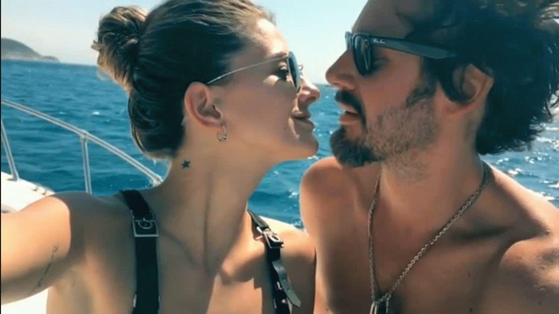 VIDEO: La China Suárez y Benjamín Vicuña a los besos en Instagram