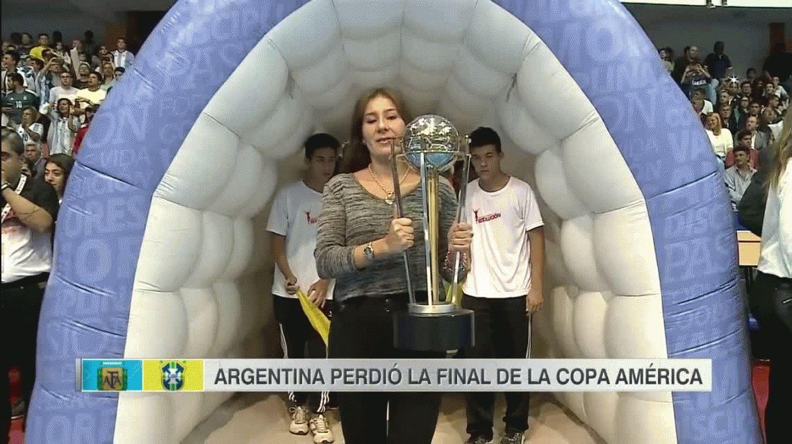 A la Argentina se le escapó en el último minuto la Copa América de futsal