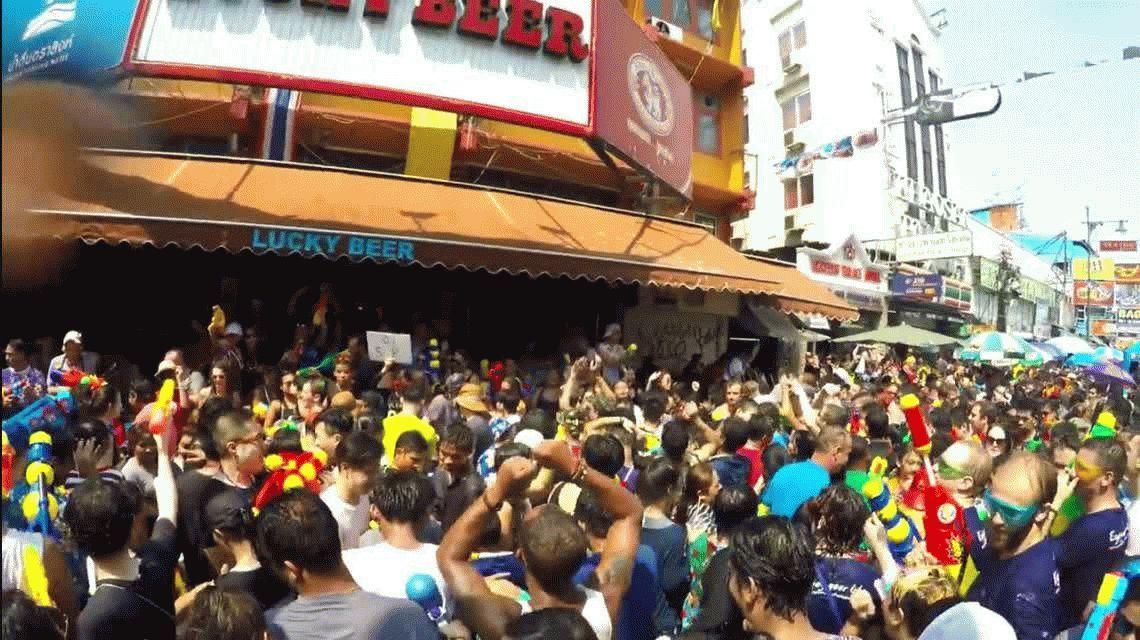 Songkran, el exótico festejo del año nuevo en Tailandia