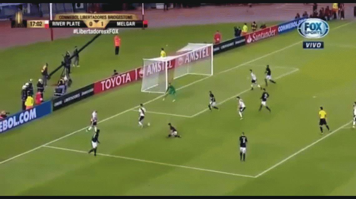 La aplanadora de Núñez: los cuatro goles de River ante Melgar en el Monumental